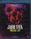 CABIN FEVER Directors Cut - Blu-ray 2 Disc SE Eli Roth Kult
