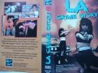 LA Crime Story ... Pamela Dixon, Anthony Gates  ...  VHS !!!