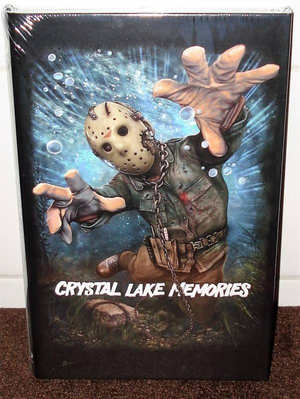 CRYSTAL LAKE MEMORIES lim. 222 Birnenblatt Hartbox NEU/ OVP