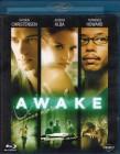 AWAKE Blu-ray - Hayden Christensen Jessica Alba Thriller