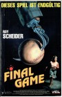 (VHS) Final Game - Die Killerkralle - Roy Scheider (Hartbox)