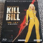 Blu-Ray Kill Bill Vol. 1+2 (I & II) - Steelbook - Uncut