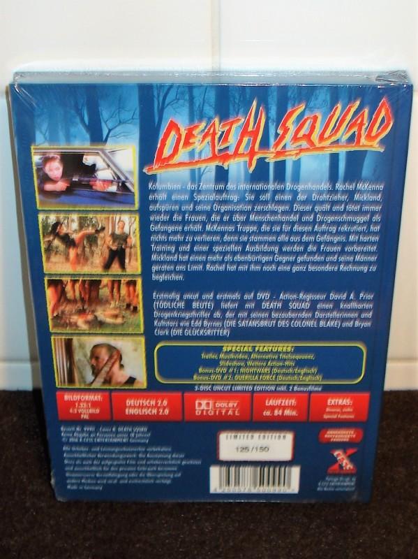 DEATH SQUAD lim. 150 X-Cess Mediabook (NEU/OVP)