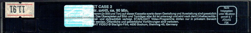 (VHS) Basket Case 2 - Starlight  (große Hartbox) Erstauflage