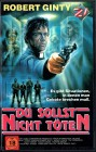 (VHS) Du sollst nicht töten - Robert Ginty  (große Hartbox)
