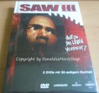 Saw 3 Mediabook Originalverpackt - Saw III