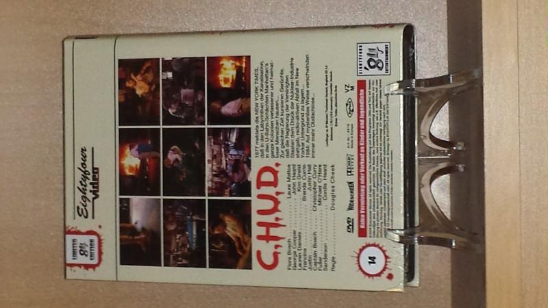 CHUD C.H.U.D. - große 84 Hartbox - Neu/ovp - no XT NSM