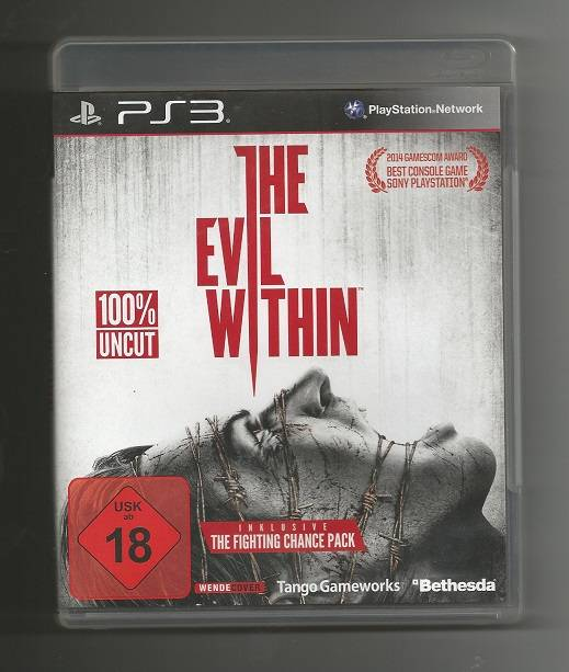 THE EVIL WITHIN (100% UNCUT) # PS3 / Play Station 3