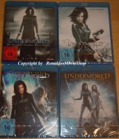 Underworld Quadrologie Bluray OVP - Teil 1 2 3 4