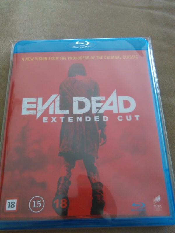 Evil Dead-Remake / Schweden Extended Cut Blu-Ray Deutsch!!!
