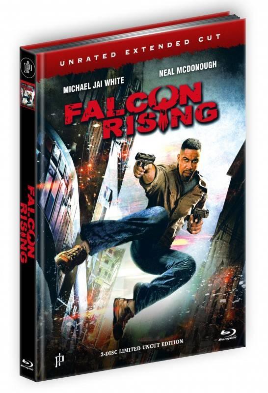 Falcon Rising - DVD/Blu-ray Mediabook Lim 500 OVP
