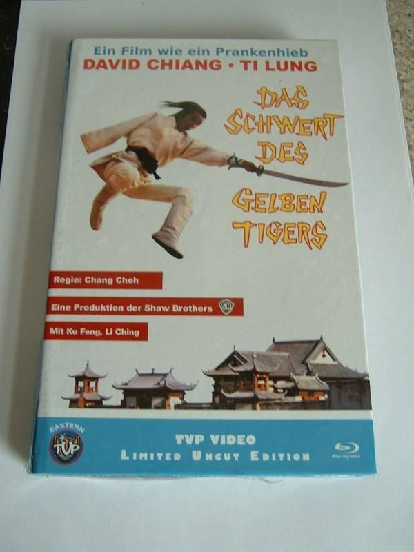 Das Schwert des gelben Tigers (gr. Buchbox, lim.,Blu-Ray OVP