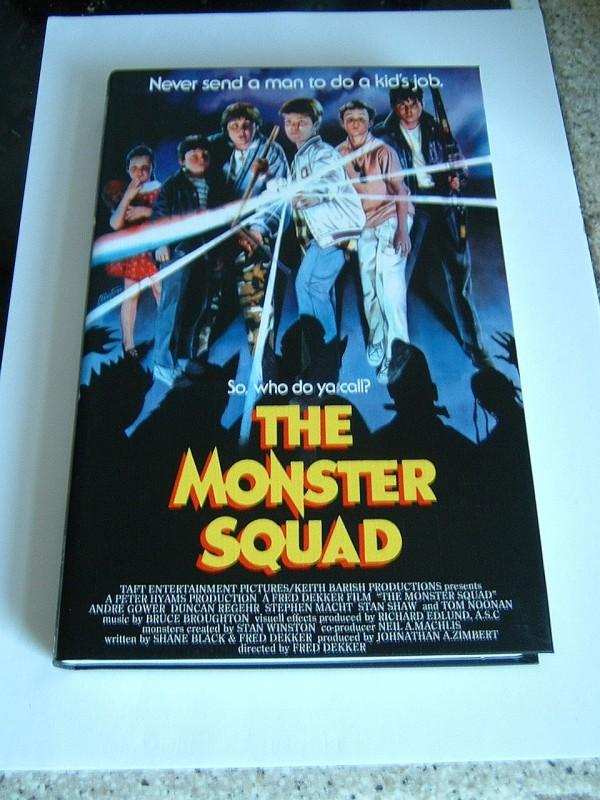 The Monster Squad (Cover B, große Buchbox, sehr selten)