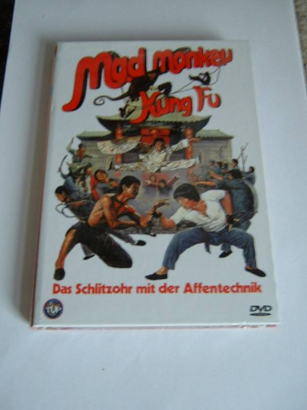 Mad Monkey Kung Fu (kleine Buchbox, lim., OVP)