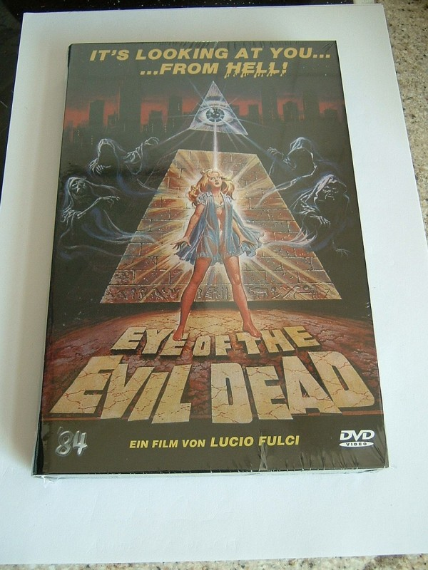 Eye of the Evil Dead (große Buchbox, limitiert, OVP)