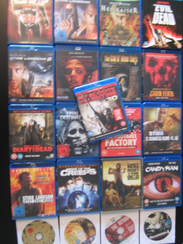 9er Blu-Ray Paket - Evil Dead / Candyman / Hellraiser ...