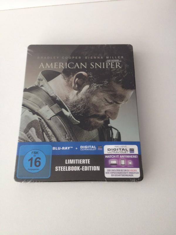 American Sniper BD Steelbook