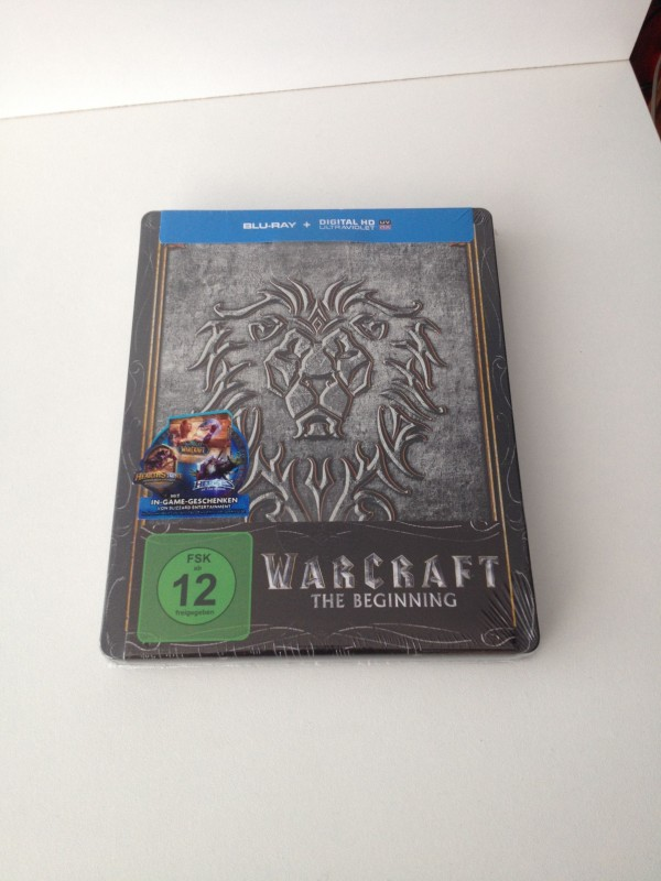 Warcraft  BD Steelbook