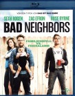 BAD NEIGHBORS Blu-ray - Seth Rogan Zac Efron - Riesen Spaß!