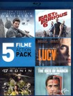 5 BLU-RAYS! ACTION Oblivion Lucy 47 Ronin Fast & Furious 6