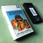 STILETTO Britt Ekland / Roy Scheider EMBASSY VHS