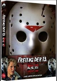 FREITAG DER 13. - Teil 06 - JASON LEBT Mediabook
