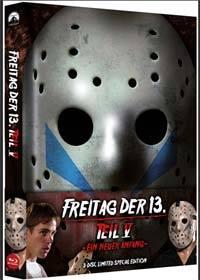 FREITAG DER 13. - Teil 05 - EIN NEUER ANFANG Mediabook