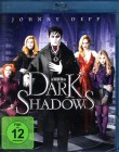 DARK SHADOWS Blu-ray - Johnny Depp Tim Burton Vampire Spass