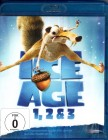 ICE AGE 1, 2 & 3 - 3x Blu-ray Animation Hits