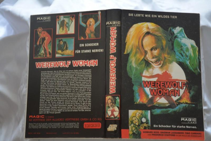 Werewolf Woman - Magic Video