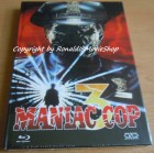 Maniac Cop 3 Bluray Mediabook Cover B