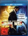 ABRAHAM LINCOLN´S ZOMBIE WAR Blu-ray 3D Horror Trash Asylum