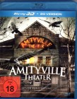 AMITYVILLE THEATER Blu-ray 3D Mystery House Psycho Horror