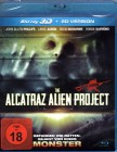 THE ALCATRAZ ALIEN PROJECT-Blu-ray 3D SciFi Horror