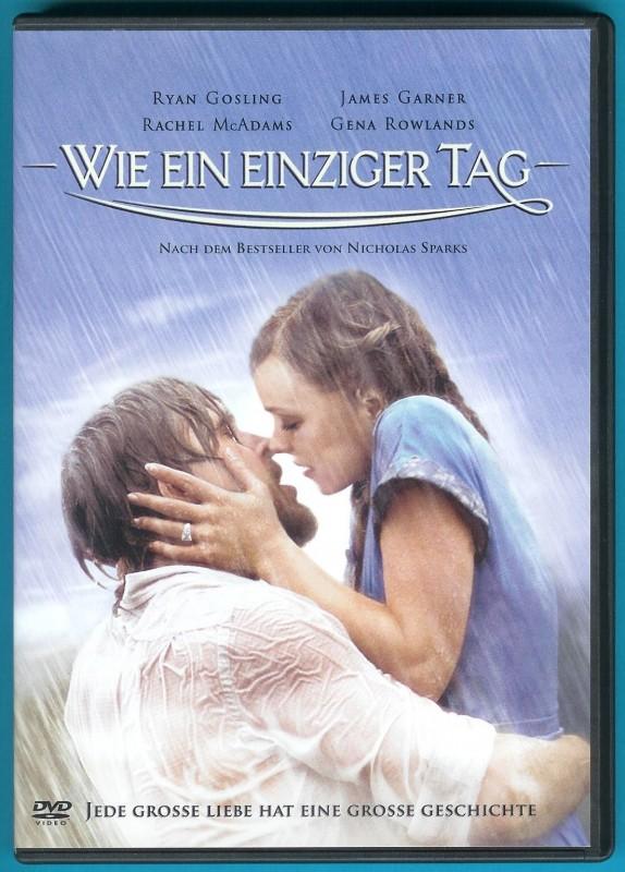 Wie ein einziger Tag DVD Ryan Gosling, Rachel McAdams NEUW.