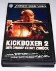Kickboxer 2 - Der Champ kehrt zurück VHS von Warner
