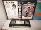 VHS - ROCKY - SYLVESTER STALLONE - WARNER Verleih