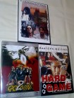 2 DVDs: HARD GAME Return of the god.. + HUNTING LIST