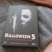 Blu-ray Halloween 5 Die Rache Mediabook Sammlung NEU UNCUT