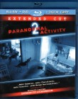 PARANORMAL ACTIVITY 2 - Extended Cut Blu-ray + DVD