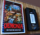 Demonia 1990 VHS Erstaufl. ASTRO Schwarze Serie Lucio Fulci
