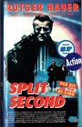 (VHS) Split Second  - Rutger Hauer - uncut Version (Hartbox)