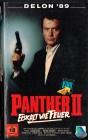 (VHS) Der Panther II - Eiskalt wie Feuer - Alain Delon-Uncut