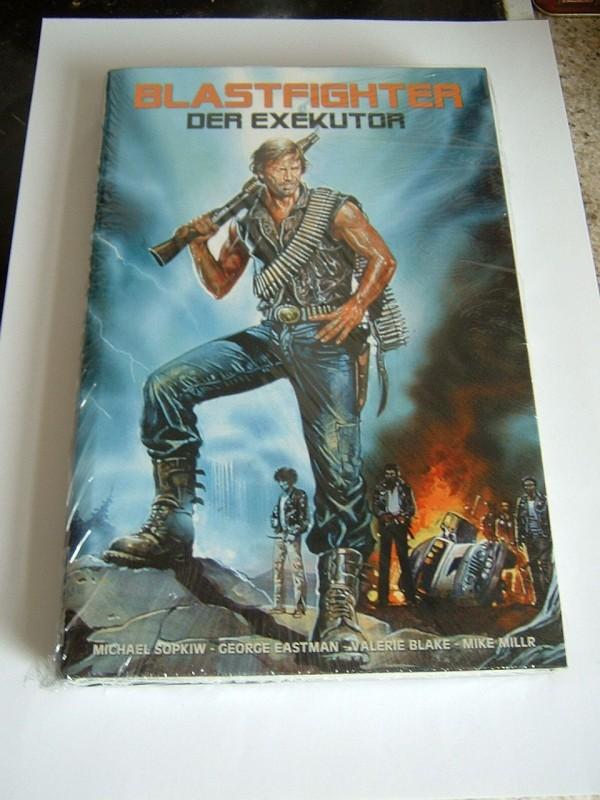 Blastfighter - Der Exekutor (große Buchbox, OVP, selten)