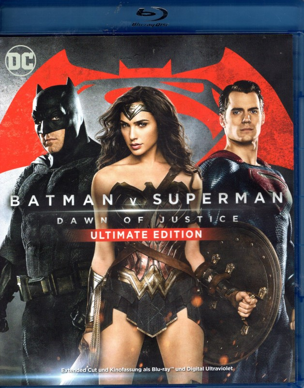 BATMAN V SUPERMAN Dawn of Justice - Blu-ray DC Wonder Woman