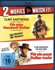 FÜR EINE HANDVOLL DOLLAR 1+2 - 2x Blu-ray Clint Eastwood