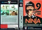 (VHS) Die 9 Leben der Ninja - Shô Kosugi, Brent Huff (VPS)