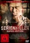 3x Serienkiller Super Edition  - 6 Filme in einer Box - DVD