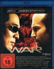 WAR Blu-ray - Jet Li Jason Statham Top Action Thriller