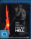 FROM HELL Blu-ray - Johnny Depp Jack the Ripper Thriller